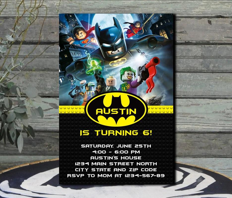 Batman Birthday Invitations Anarchistshemale