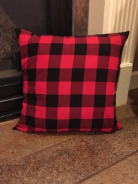 Blank Buffalo Plaid Pillow Cover Buffalo Plaid Pillow Cover