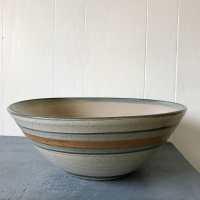 large handmade pottery mixing bowl ceramic serving bowl