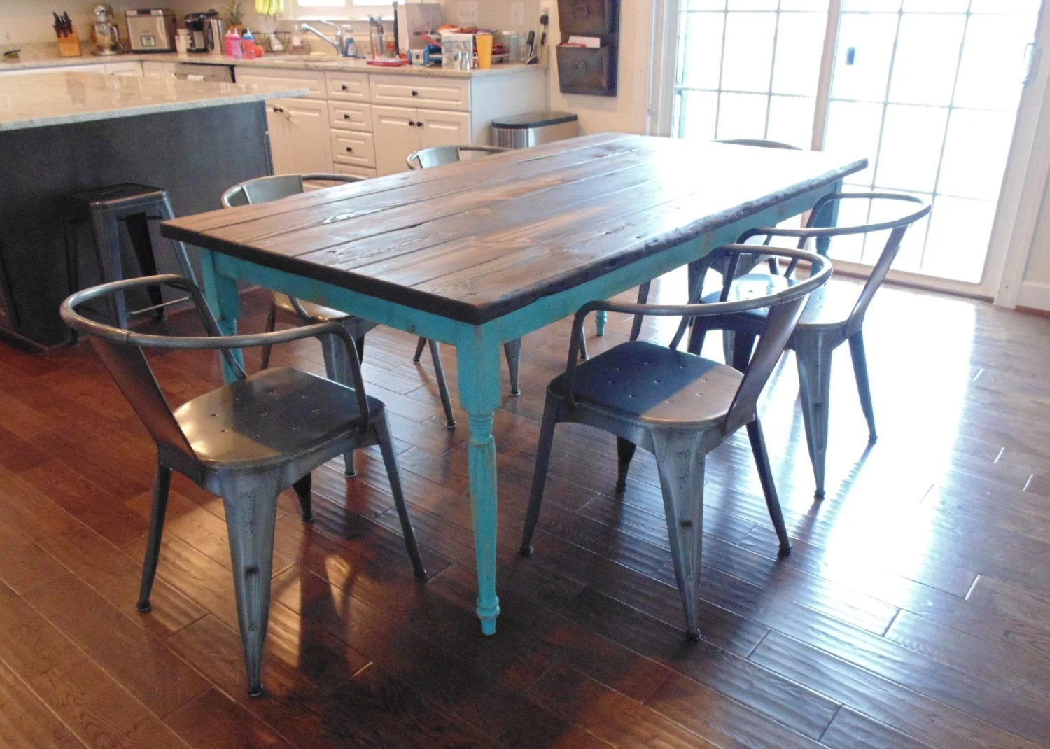Circle Round Farmhouse Dining Table Dining Table Ready In 2 Weeks Farmhouse Table French
