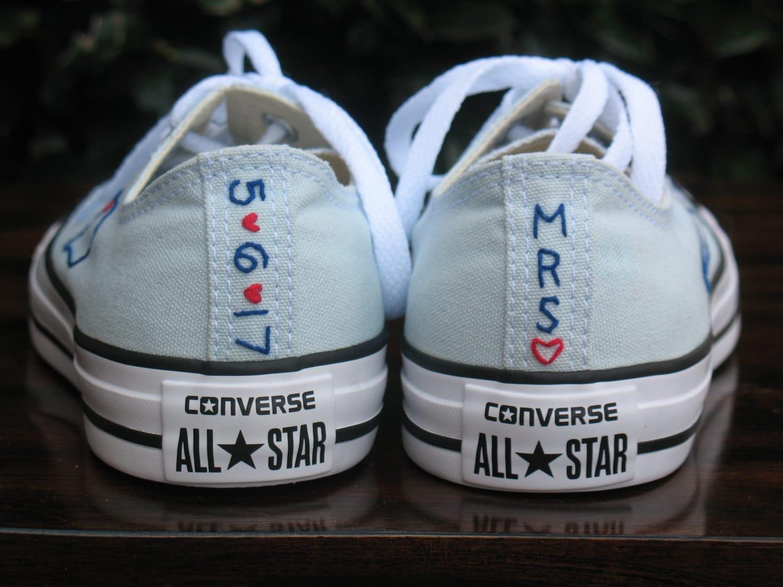 wedding toms toms wedding shoes Custom Wedding Converse Custom Converse Custom Chuck Taylors Custom Bride Sneakers Custom Wedding Shoes Custom Chucks Wedding shoes