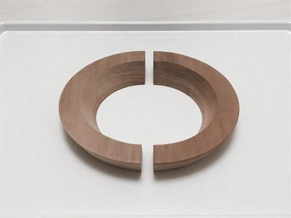 Wood Drawer Pull Cabinet Knob. Drawer Pull Mid