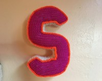 Letter shaped pillow | Etsy