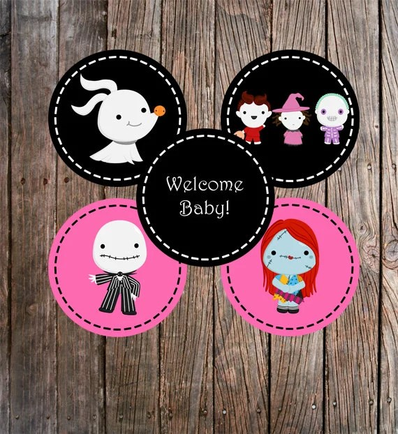 Baby Shower Centerpieces The Nightmare Before Christmas - nightmare before christmas baby shower decorations