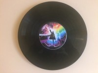 Pink Floyd Recycled Vinyl / CD Clock Wall Art
