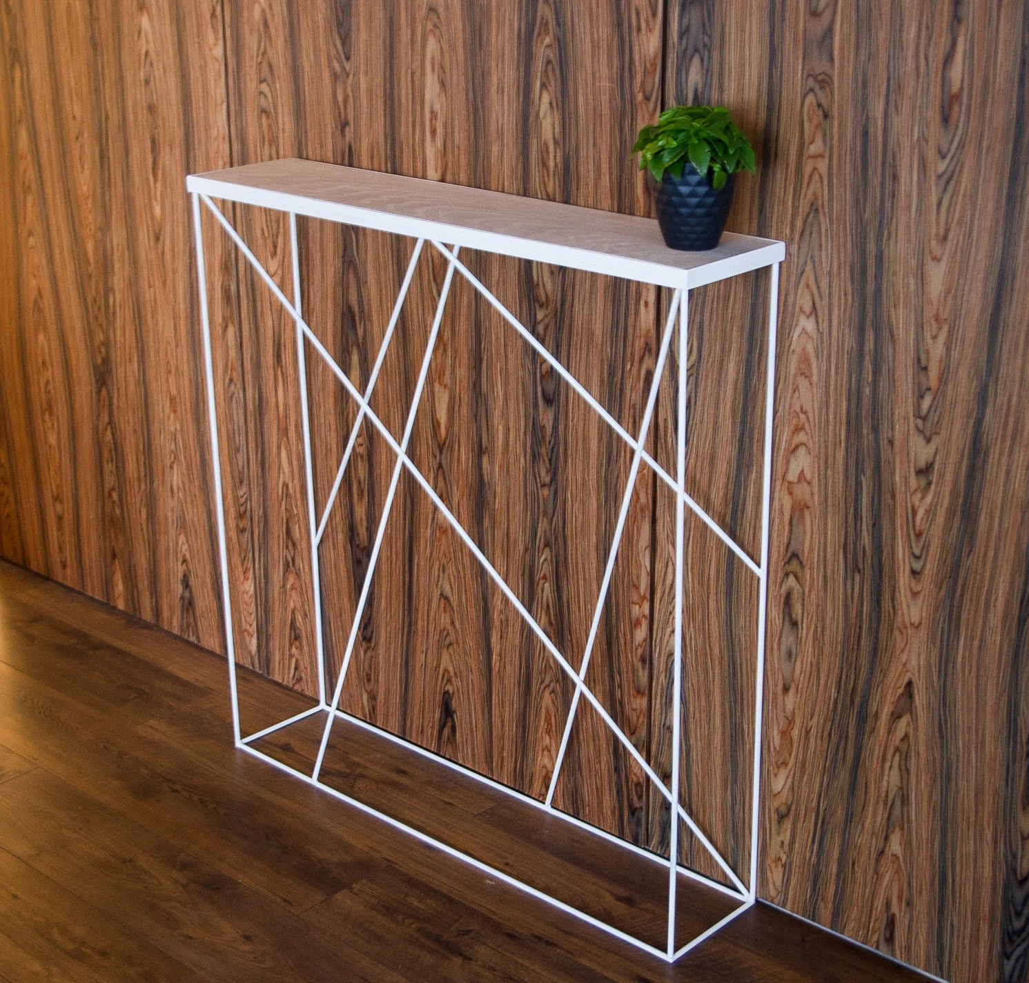Console Etroite White Console Table Narrow Console Table Entryway Table
