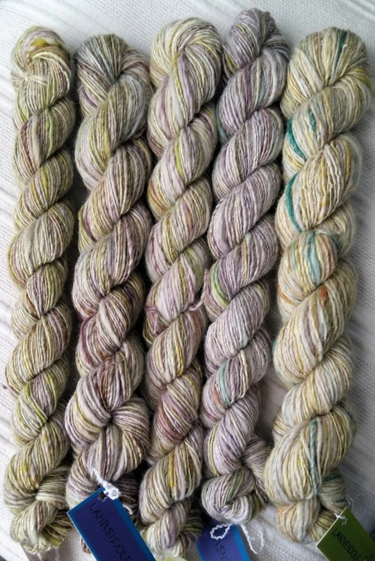 Hand dyed, pure italian w...