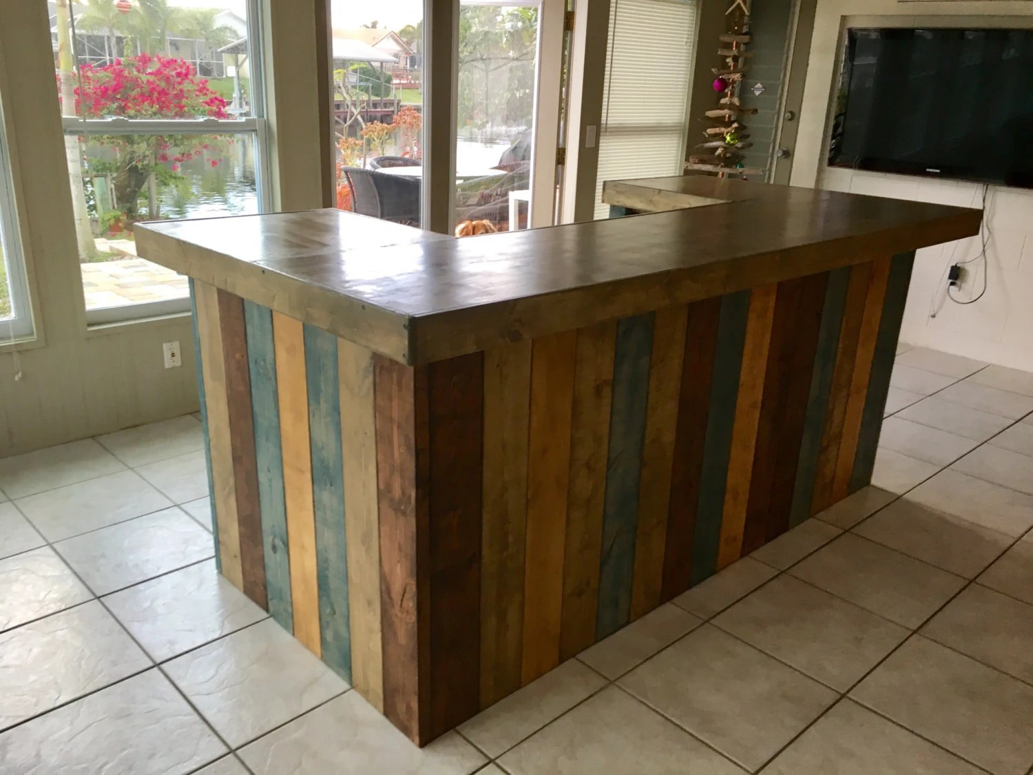 Sale Counter Design The Rustic Blues Rustic Barn Wood Style Bar Sales