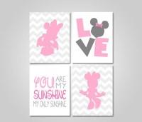 INSTANT DOWNLOAD Minnie Printable Wall Art Decor Minnie