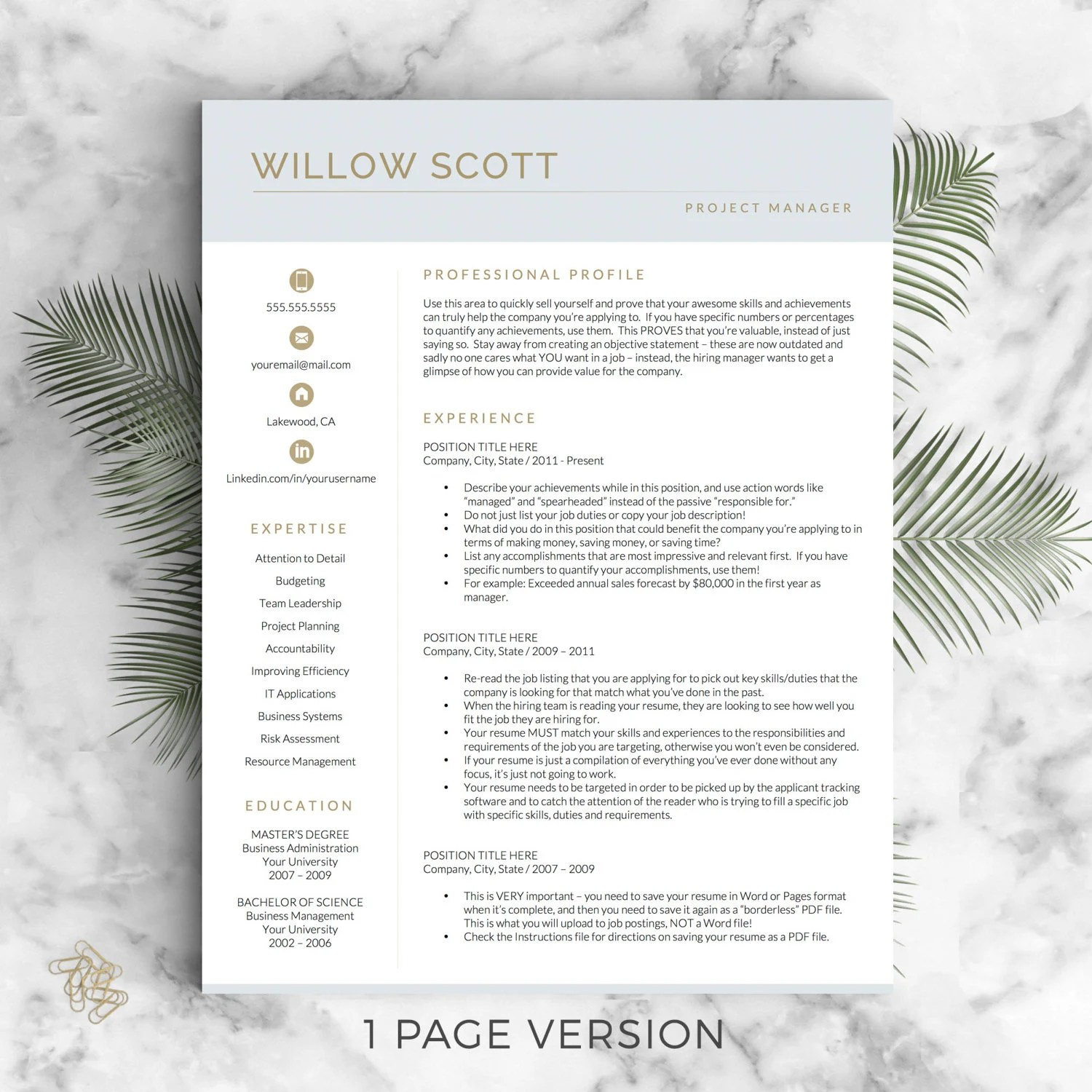 Use A Resume Template In Word Online Supportoffice Resume Template Etsy