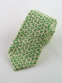 St Patricks Day Ties  Mens Beige and Green St Patricks ...