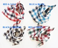 Personalized Dog and Cat Scarves Monogrammed Pet Bandanas