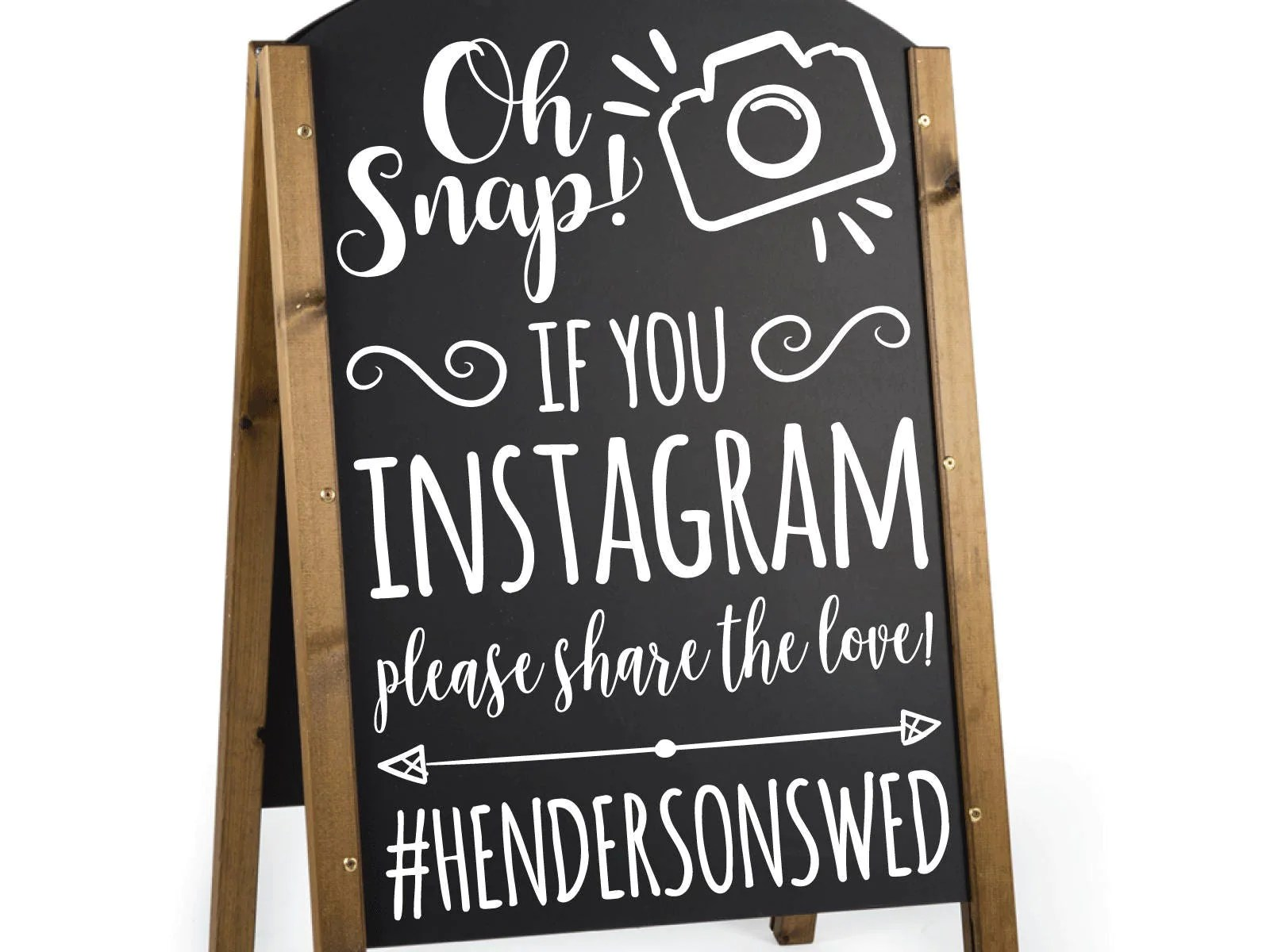 Fullsize Of Wedding Hashtag Sign
