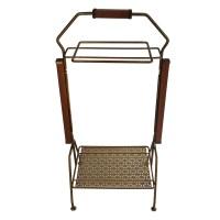 Vintage metal side table | Etsy