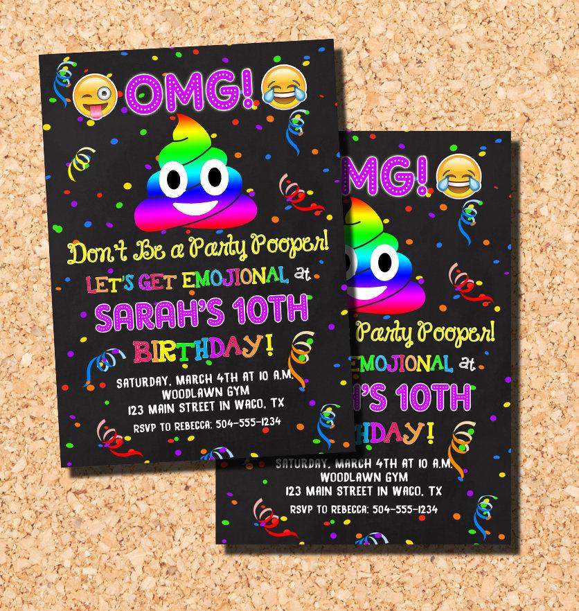 poop emoji birthday party - Ecosia