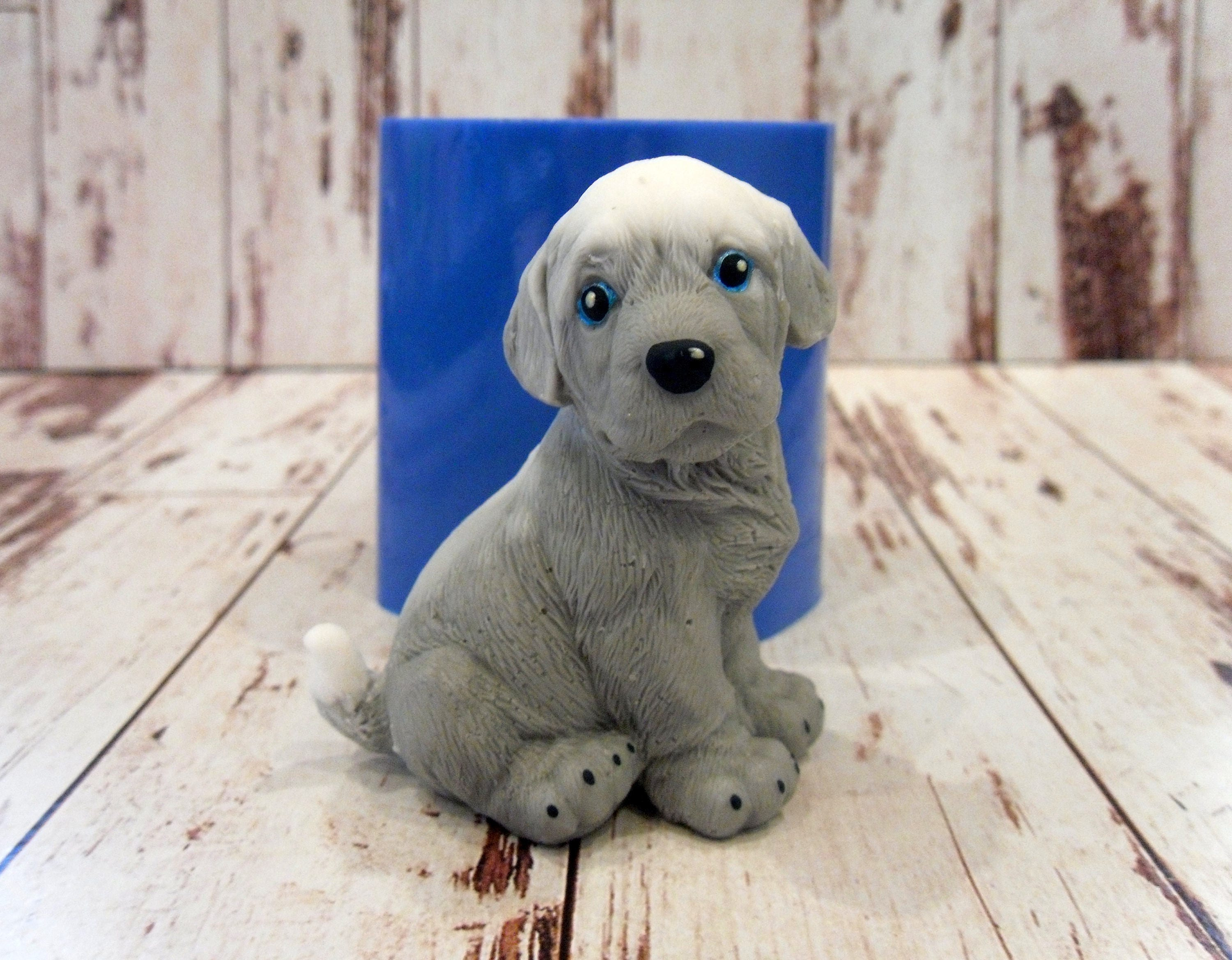 Silicone Soap Molds Australia Doggy 4 Silicone Mold For Soap And Candles Making Mould