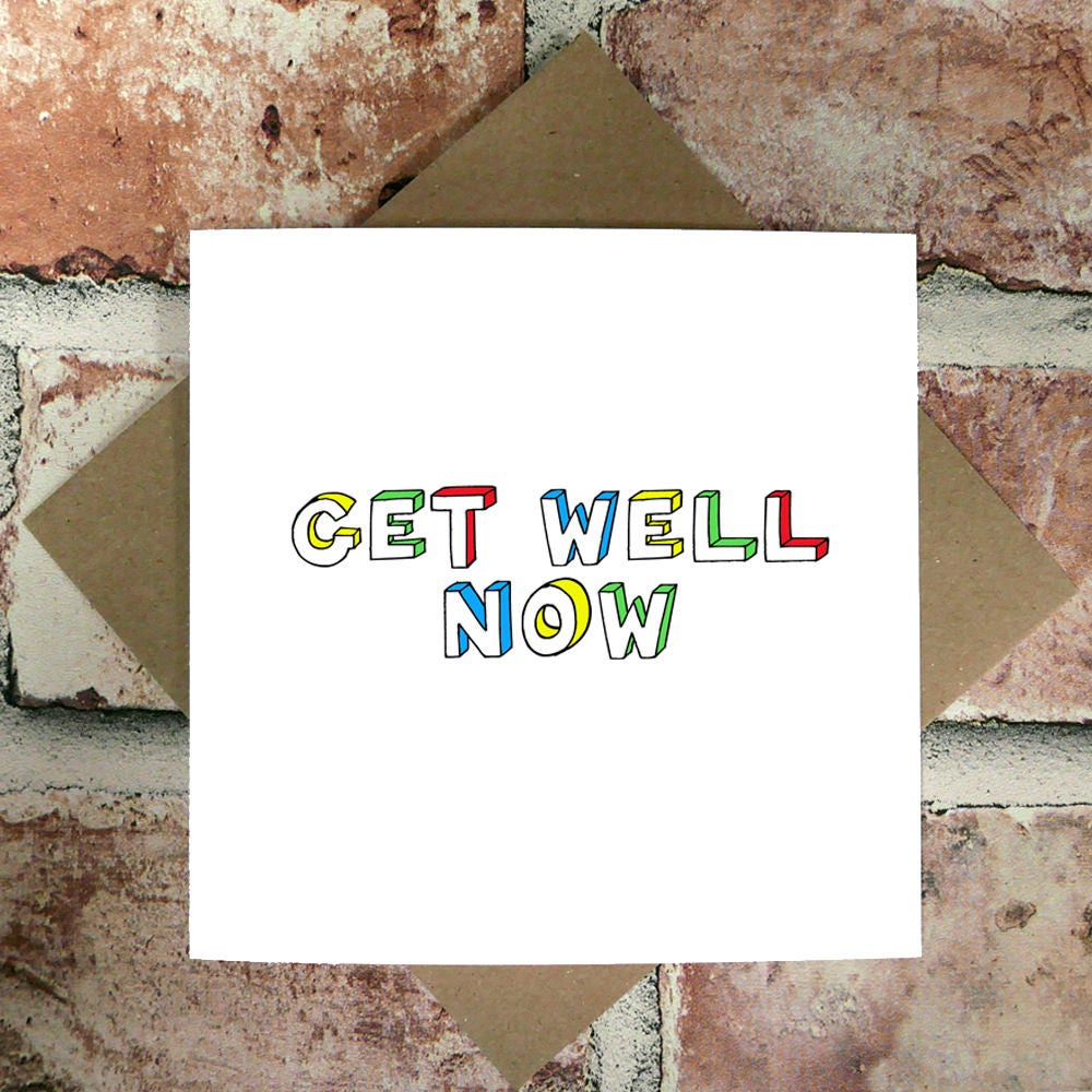 Fullsize Of Funny Get Well Soon