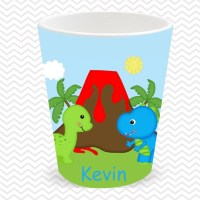 Dinosaur Plate, Bowl, Cup, Placemat - Personalized ...