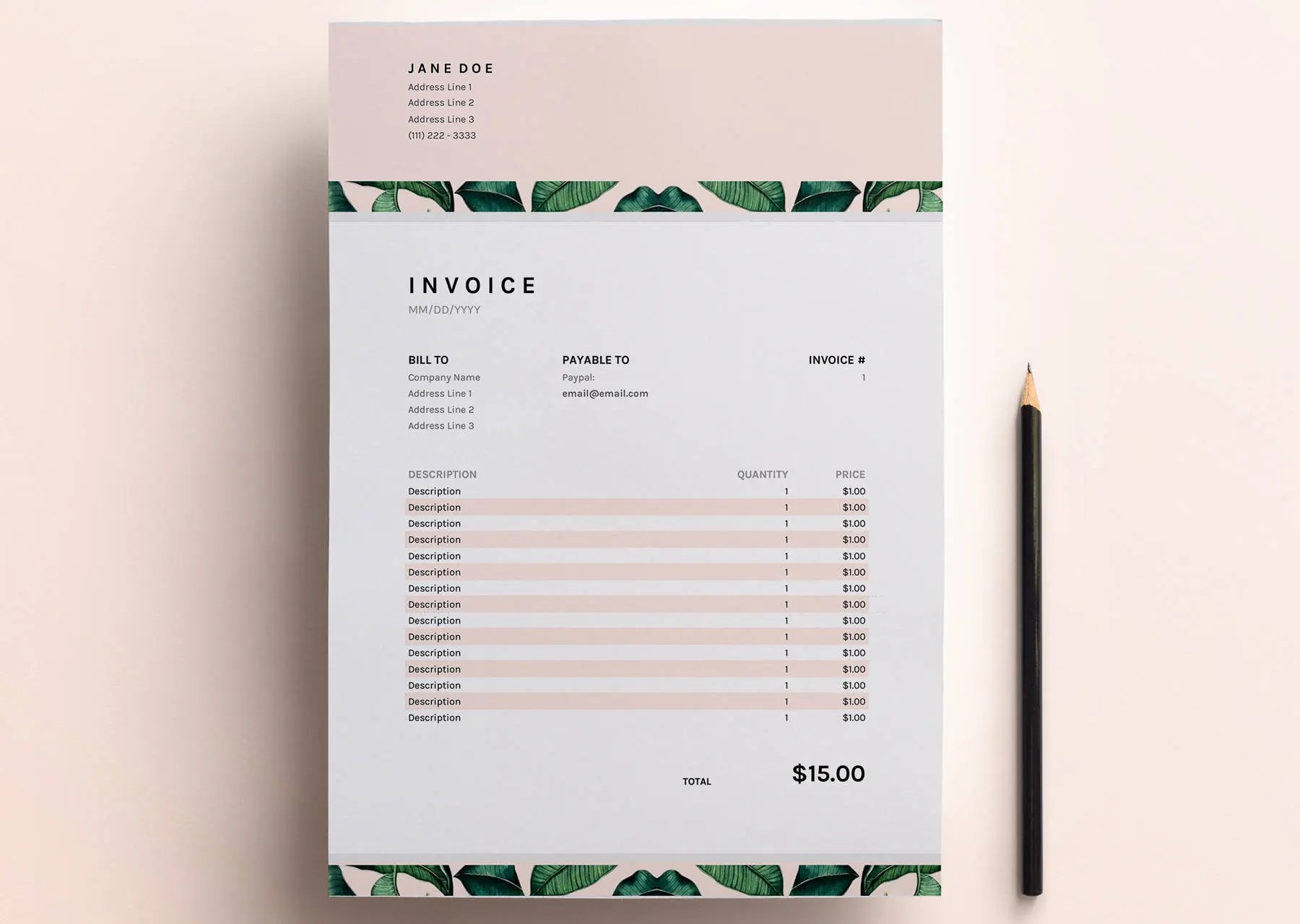 Invoice Template Business Invoice Spreadsheet Google Sheets - google invoices templates