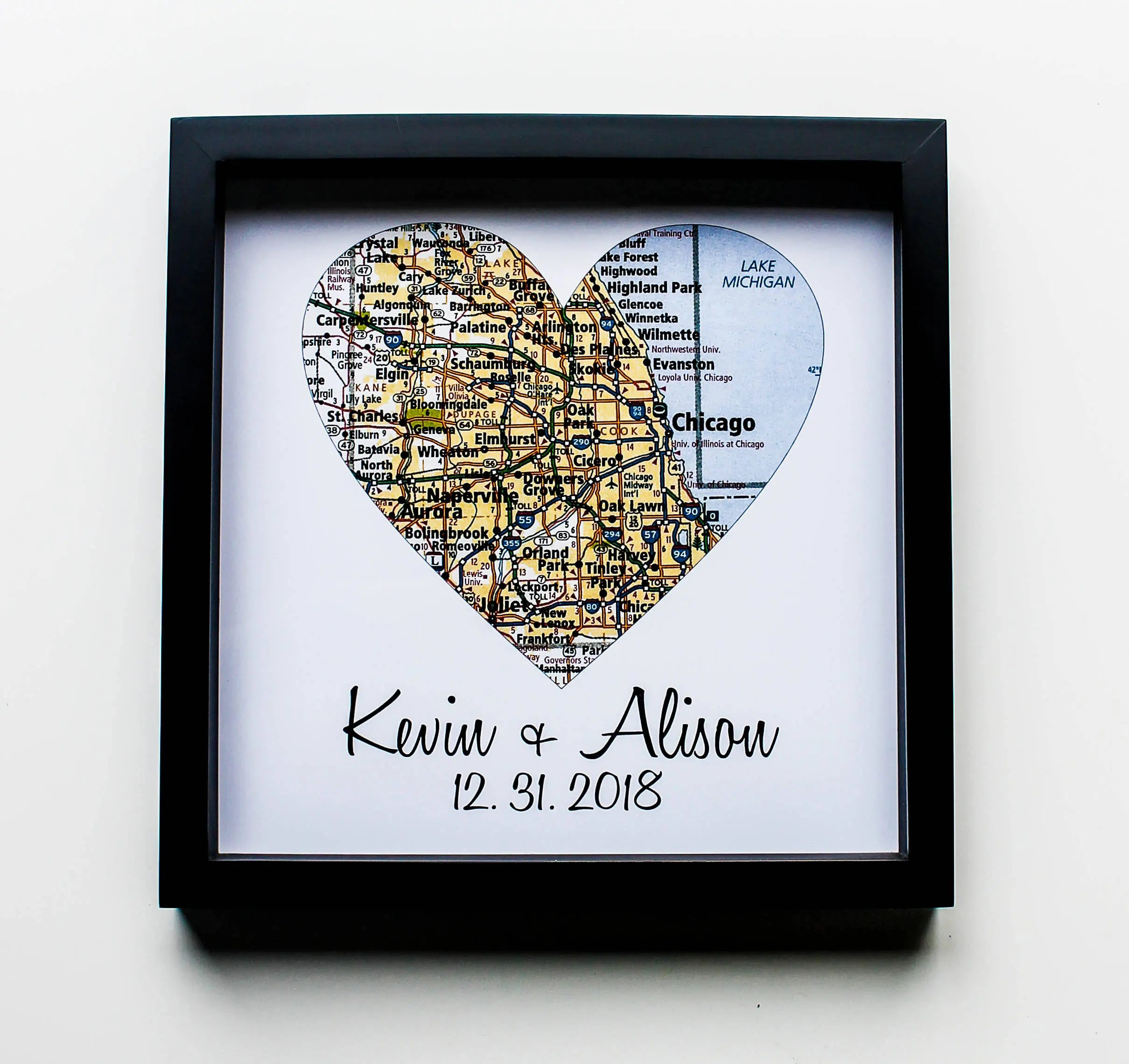First House Gift Ideas Housewarming Gift New Home Gift Map Art Framed First Home Gift