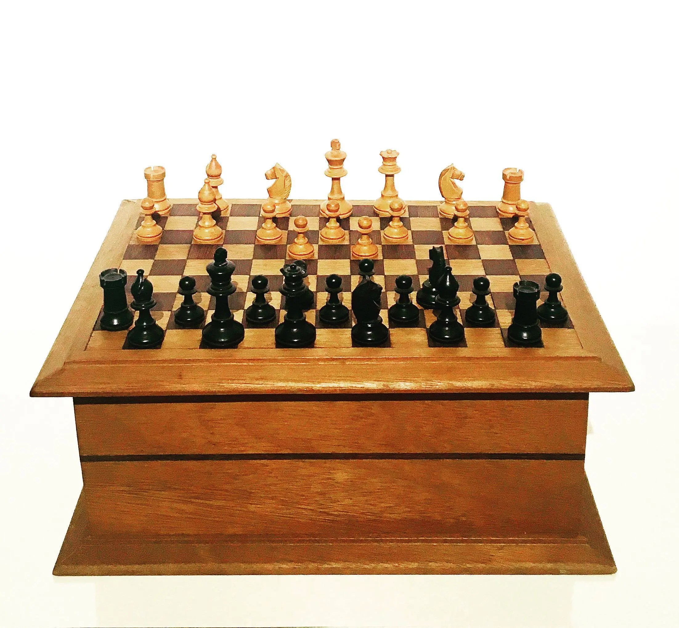 Chest Game Set Vintage Chess Game Box Vintage Chest Vintage Multiple