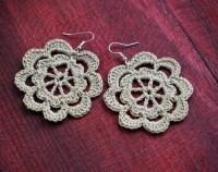 Crochet earrings | Etsy