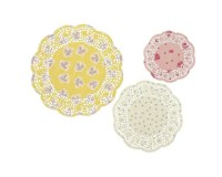 Truly Scrumptious Doily, Set of 3, Tea Party, Vintage ...