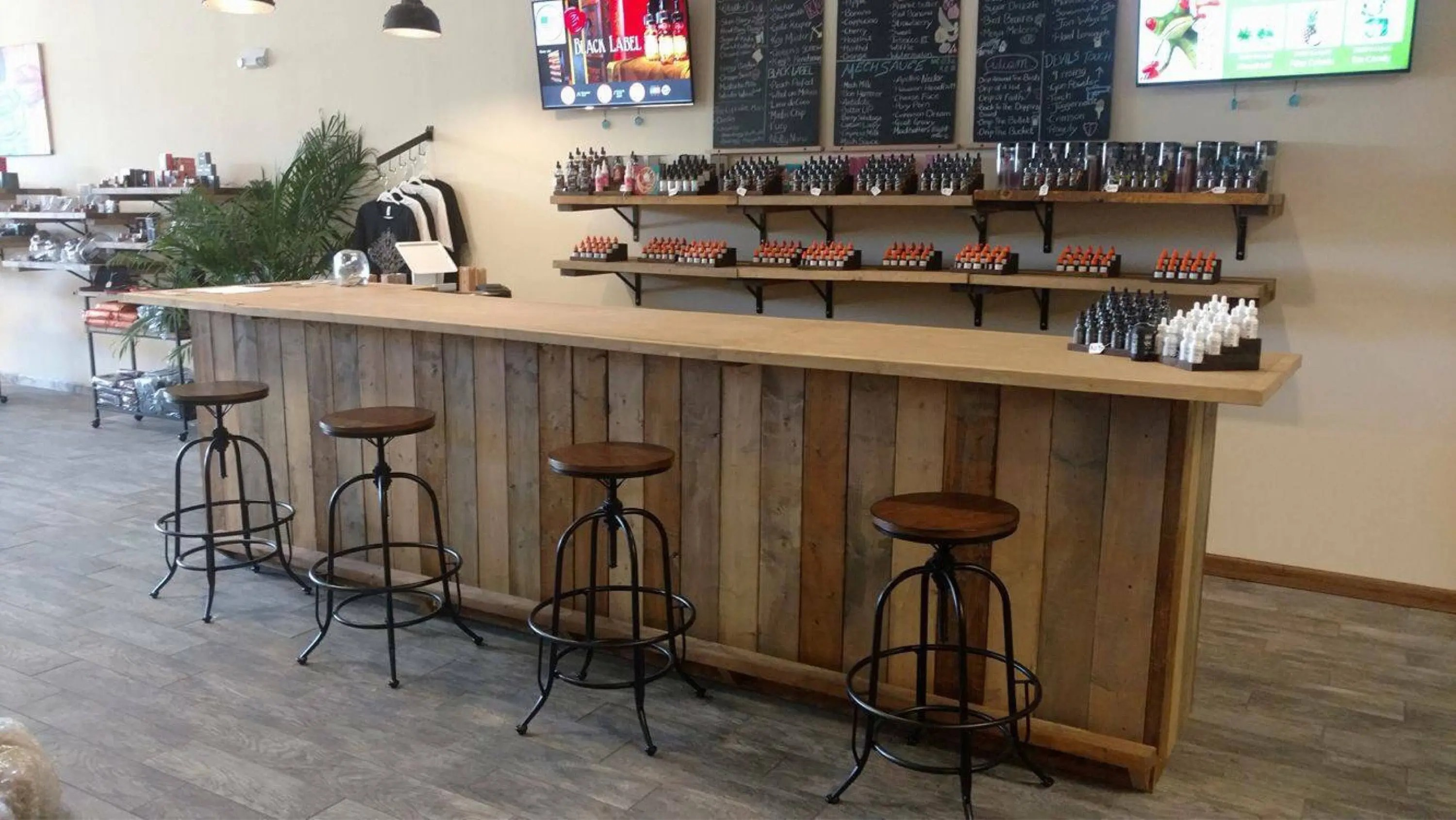 Bar En Bois Moderne The Michael 12 39 Rustic Finished Barnwood Or Pallet Style