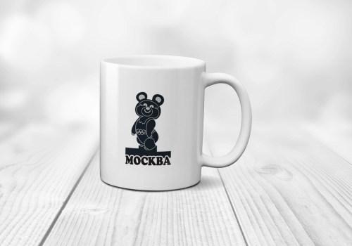 Medium Of Bear Coffee Cup