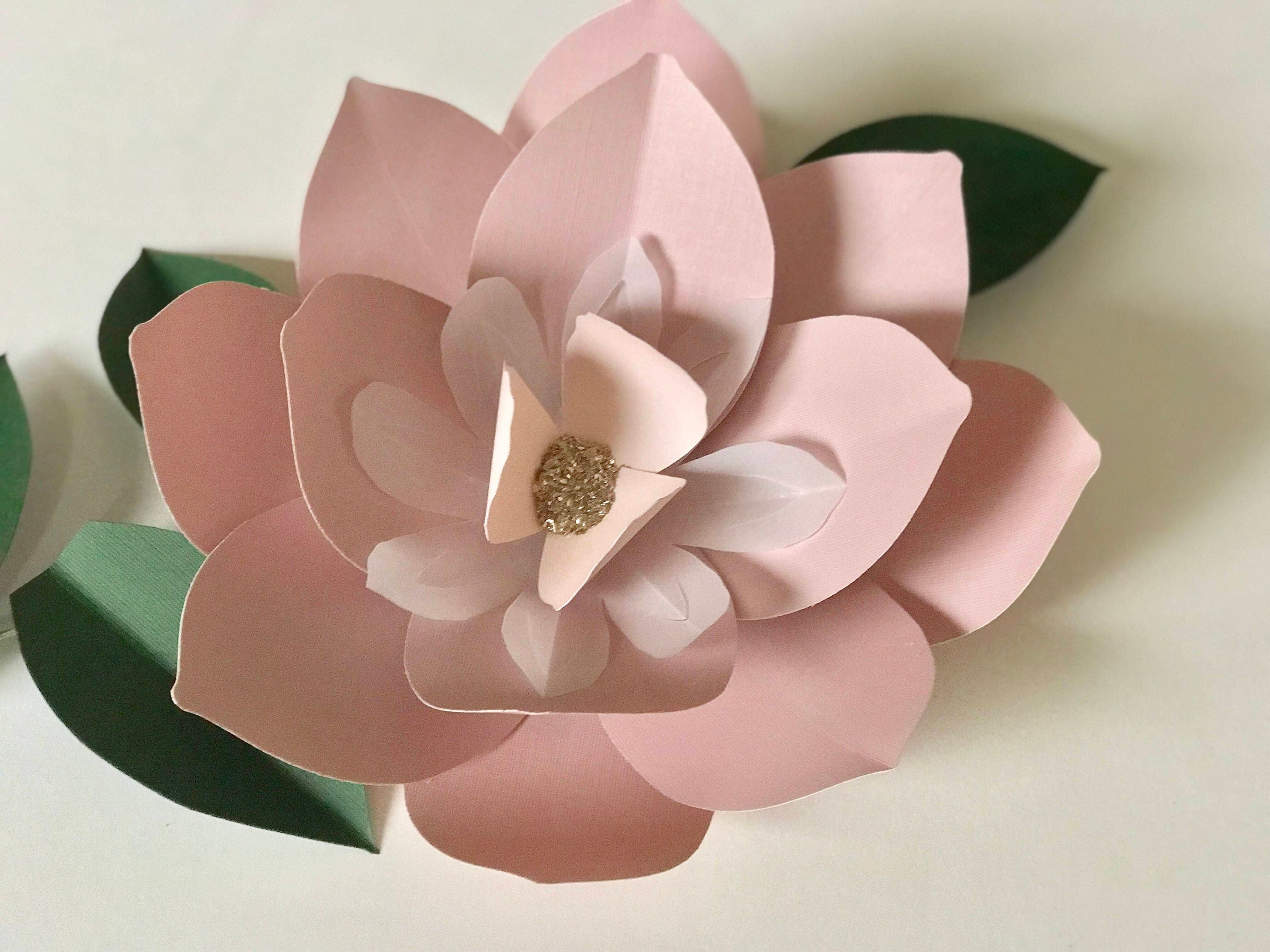 Amazing Paper Flowers Wall Decor Baby Nursery Wall Decor Huge Paper