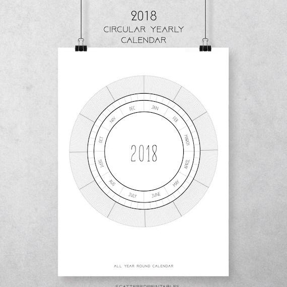 phairzios circular calendar - circular calendar
