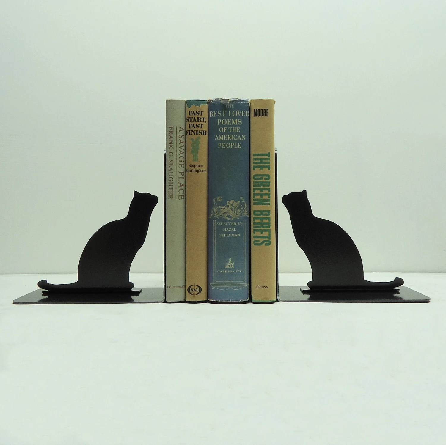 Bookends Book Stitching Style Cool Bookends