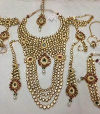 Buy Bridal Kundan Necklace Set from P S Jewellery, New