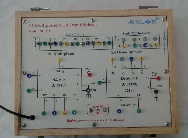 41 Multiplexer  14 Demultiplexer SD-311 Manufacturer in Nagpur