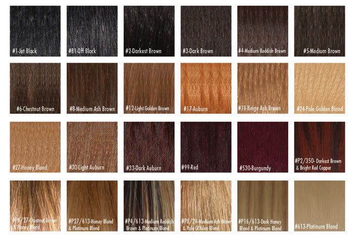 Buy Human Hair Color Chart from Arrow Exim, India ID - 336806 - hair color chart