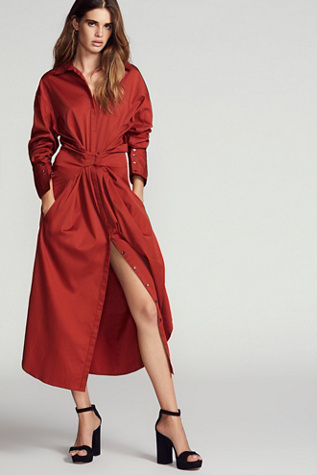 Hook Clothing Nicholas K Hook Shirt Dress At Free People Clothing Boutique