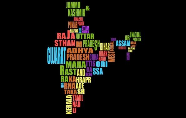 Indian Girls Wallpaper Download Wallpaper Typography Map India Images For Desktop