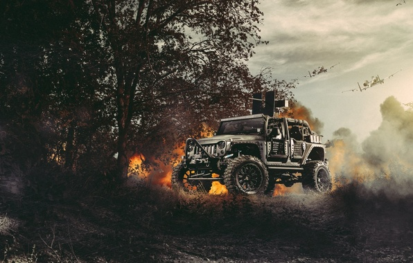 Cj So Cool Car Wallpapers Wallpaper Nature Fire Cars Front Wrangler Jeep Off
