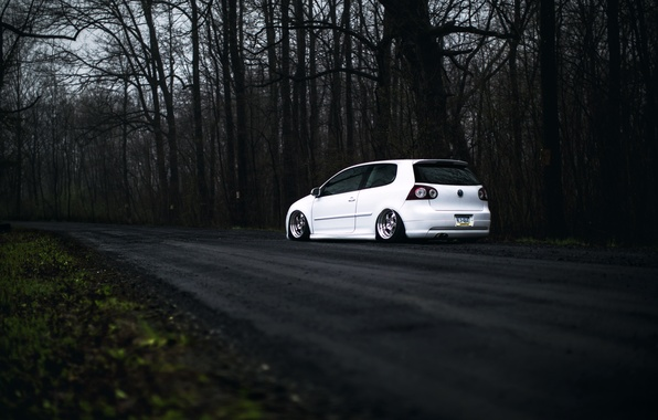 Vw Gti Wallpaper Iphone Wallpaper Volkswagen White Golf Gti Stance Mk5 Images