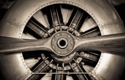 Wallpaper metal, engineering, propeller, aircraft engine images for desktop, section авиация ...