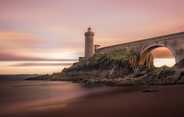 Iphone 4s New Wallpapers Wallpaper Lighthouse Brittany Plouzane Phare Du Petit