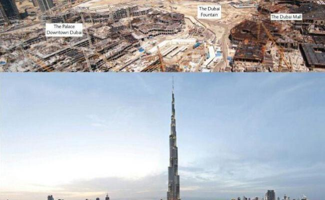 Dubai Before And After Than And Now 6 Years Funny Pictures Best Jokes Comics