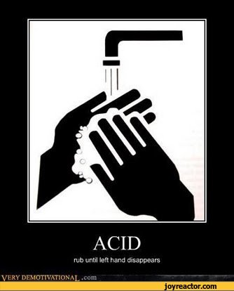 ACIDrub until left hand disappears VKRY Di MOTIVATION A!