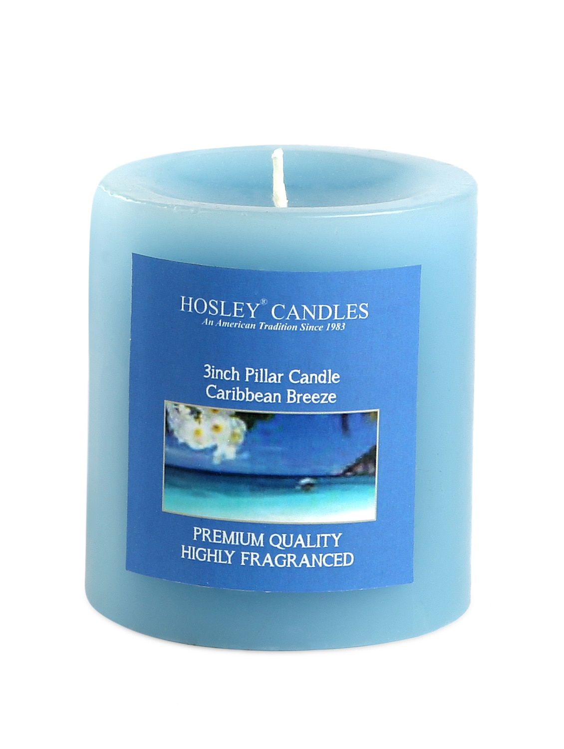 Buy Candles Online Buy Caribbean Breeze Scented Pillar Candle By Hosley