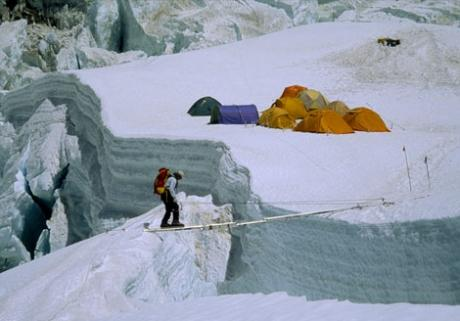 Ice Fall Wallpaper L Ascension De L Everest En Images