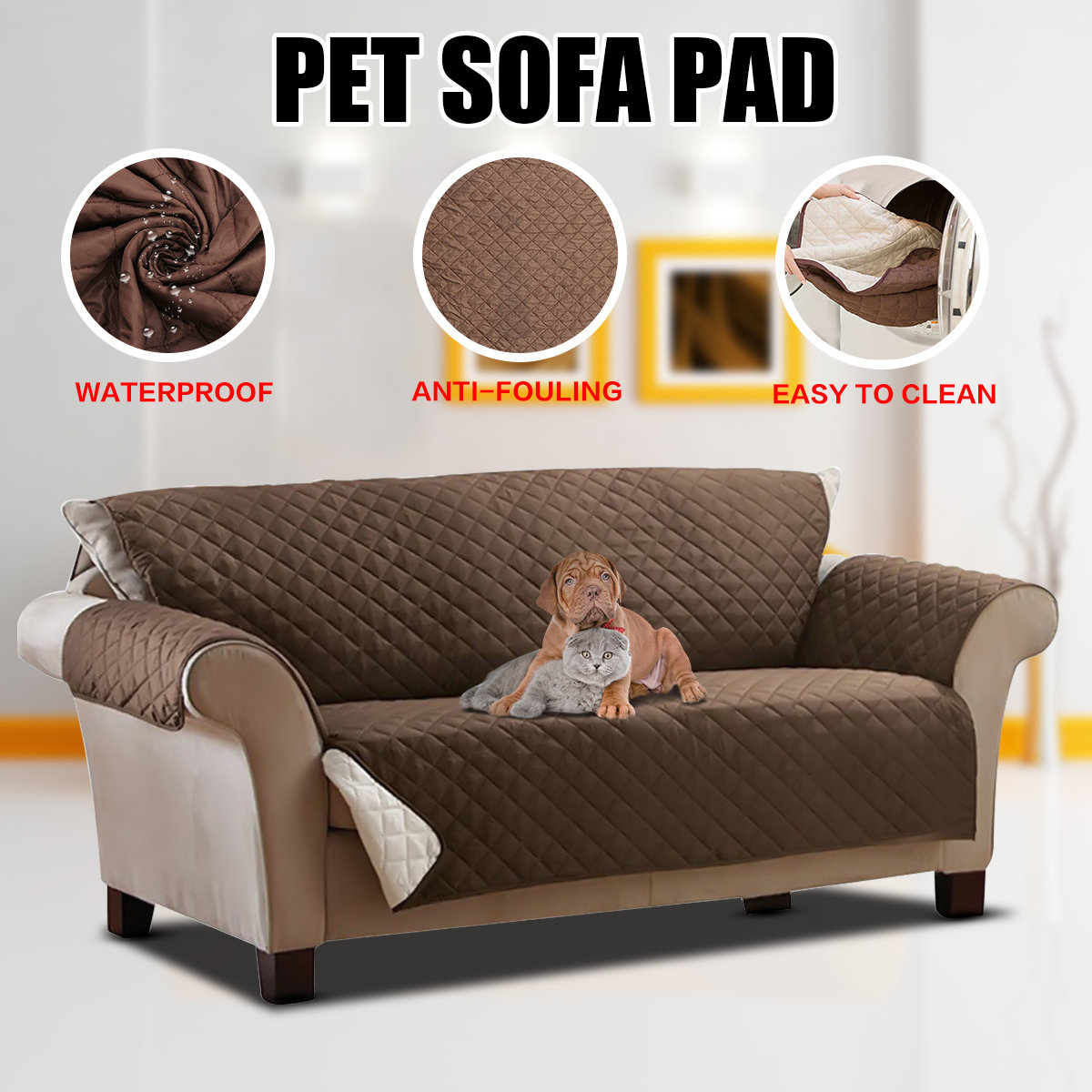 Donde Venden Fundas Para Sillones Pet Dog Couch Loveseat Sofa Cushion Pad Furniture