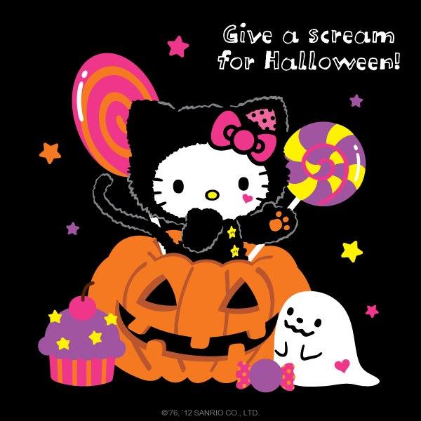 Hello Kitty Fall Wallpaper 13 Halloween Obrazki Zdjęcia Na Facebook Obrazkionline