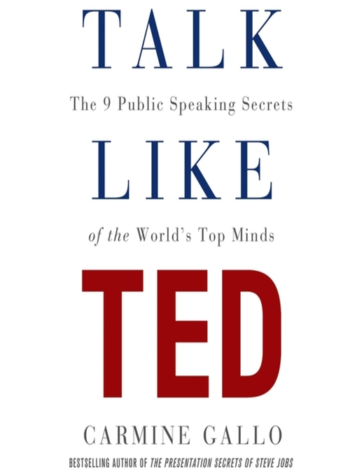 Talk Like TED - New York Public Library - OverDrive