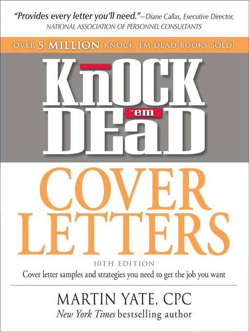 Knock \u0027em Dead Cover Letters - National Library Board Singapore