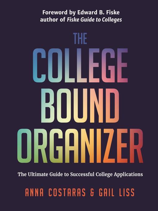The College Bound Organizer - Media On Demand - OverDrive - college organizer